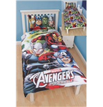 Marvel Avengers 3D Bettwäsche Reversible Team 135 x 200 cm