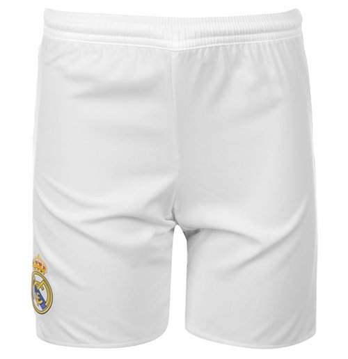 Shorts Real Madrid 2015-2016 Home (Weiss)