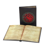 Game of Thrones Notizbuch mit Leuchtfunktion Targaryen