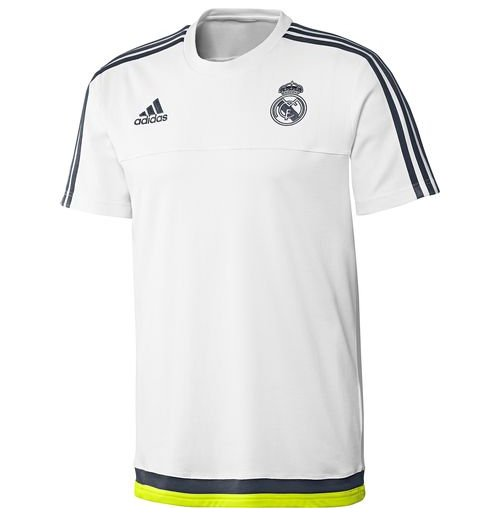 t shirt real madrid 2015 2016 weiss f r nur 32 26 bei merchandisingplaza. Black Bedroom Furniture Sets. Home Design Ideas