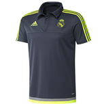 Polohemd Real Madrid 2015-2016 (Grau)