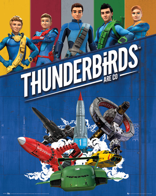 Poster Thunderbirds 143618
