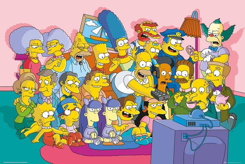 Poster Die Simpsons