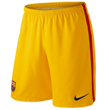 Shorts Barcelona 2015-2016 Home (Gold)
