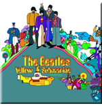 Magnet Beatles aus Metall - Yellow Submarine Album Cover