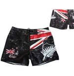 All Blacks Neuseeland Badeshorts mit Kiwis