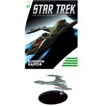 Star Trek Official Starships Collection Magazin mit Modell #41 Klingon Raptor