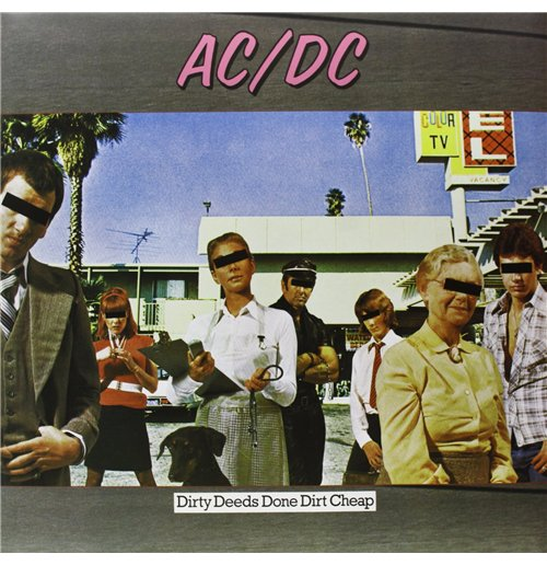 Vinyl Ac/Dc - Dirty Deeds Done Dirt Cheep