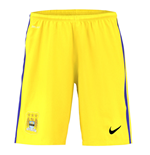 Shorts Manchester City FC 2015-2016 Away (Gelb)