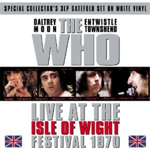 Vinyl Who (The) - Isle Of Wight Festival 1970 (White) (3 Lp)