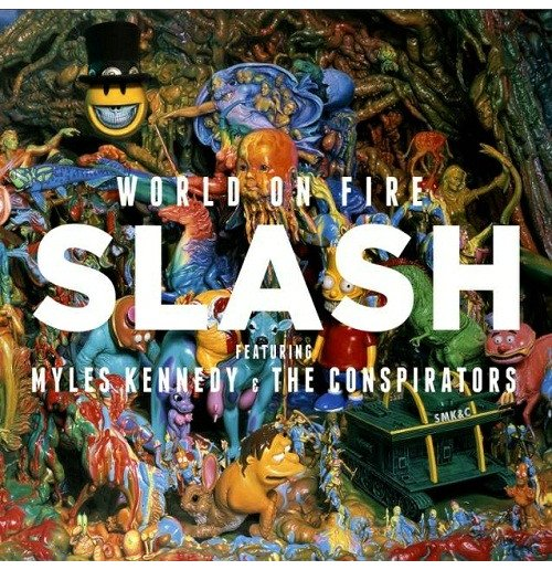 Vinyl Slash - World On Fire (2 Lp)