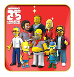Simpsons 25th Anniversary Actionfiguren 13 cm Serie 5 Sortiment (22)