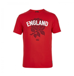 T-Shirt England Rugby 2015-2016 (Rot)