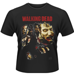 T-Shirt The Walking Dead - Zombies Ripped