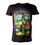 T-Shirt Ninja Turtles - Bright Graffiti