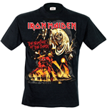 T-Shirt Iron Maiden - The Number of the Best Graphic
