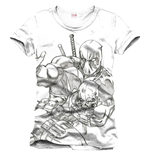 T-Shirt Deadpool - Sketch