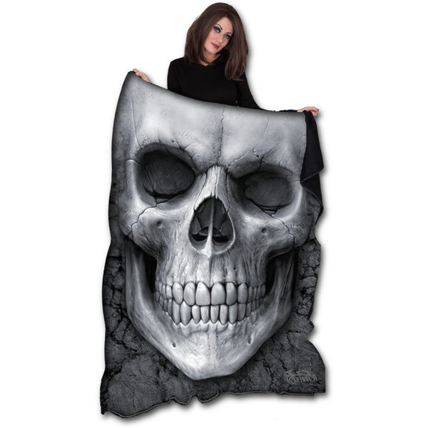 bettdecke spiral solemn skull original kaufen sie online. Black Bedroom Furniture Sets. Home Design Ideas