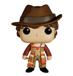 Doctor Who POP! Television Vinyl Figur 4th Doctor 9 cm
