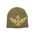 The Legend of Zelda Beanie Woven Golden Logo