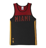 T-Shirt Miami Heat (Schwarz)