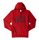 Sweatshirt Chicago Bulls (Rot)