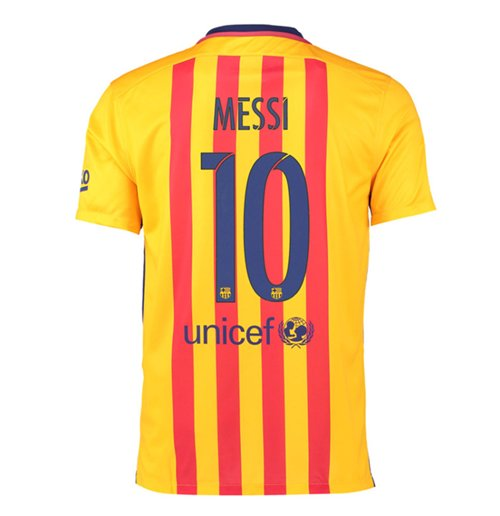 Trikot Barcelona 2015-2016 Away (Messi 10)