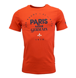 T-Shirt Paris Saint-Germain 2015-2016 (Rot)