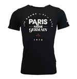 T-Shirt Paris Saint-Germain 2015-2016 (Schwarz)