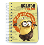 Minions Terminkalender Survival of Yellowest *Portugiesische Version*