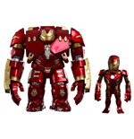 Avengers Age of Ultron Artist Mix Wackelkopf-Figuren Hulkbuster & Battle Damaged Iron Man 20 cm