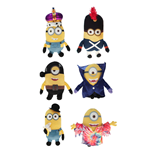 Minions Plüschfiguren Movie 15 cm Sortiment (6)