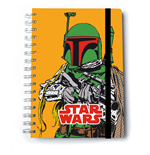 Star Wars Notizbuch A5 Boba Fett