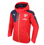 Jacke Arsenal 2015-2016 Puma Performance Regenjacke (Red) für Kinder