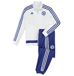 Trainingsanzug Chelsea 2015-2016 Adidas PES in weiss fur Kinder