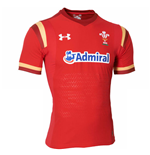 Trikot Galles Rugby 2015-2016 Home (Rot)