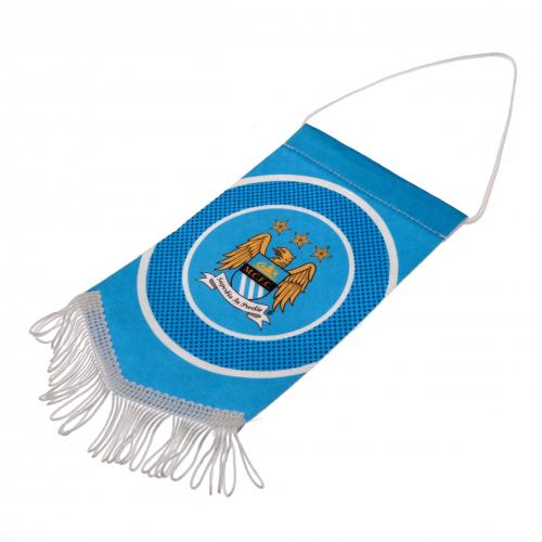 Wimpel Manchester City FC Mini.