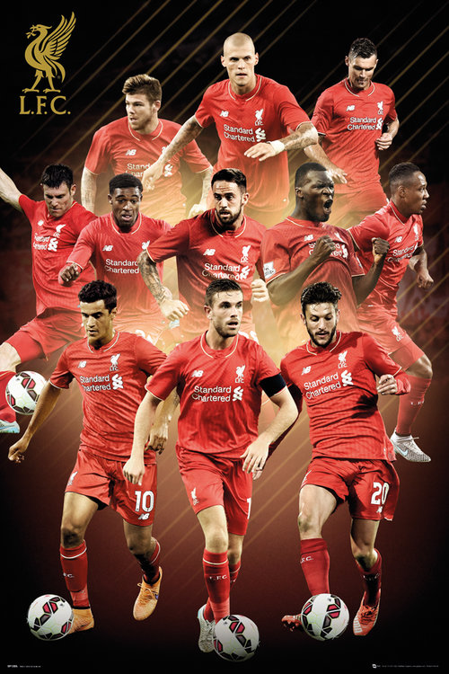 Poster Liverpool FC 151793