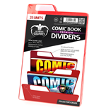 Ultimate Guard Premium Comic Book Dividers Rot (25)