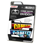 Ultimate Guard Premium Comic Book Dividers Schwarz (25)