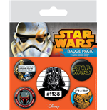 Star Wars Ansteck-Buttons 5er-Pack Cult