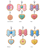 Sailor Moon Pretty Soldier Charm Patisserie Anhänger Cookie Charm Sortiment (6)