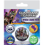 Guardians of the Galaxy Ansteck-Buttons 5er-Pack