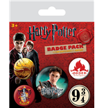 Harry Potter Ansteck-Buttons 5er-Pack Gryffindor
