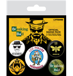 Breaking Bad Ansteck-Buttons 5er-Pack Los Pollos Hermanos