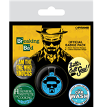 Breaking Bad Ansteck-Buttons 5er-Pack Heisenberg Flask