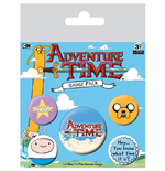 Adventure Time Ansteck-Buttons 5er-Pack