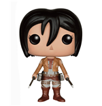 Attack on Titan POP! Vinyl Figur Mikasa Ackermann 10 cm