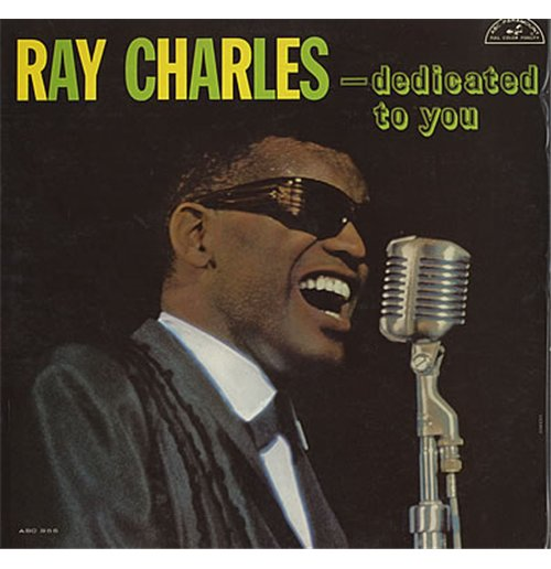 Vinyl Ray Charles - Dedicated To You