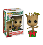 Guardians of the Galaxy POP! Vinyl Wackelkopf-Figur Holiday Dancing Groot 10 cm